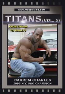 Darrem Charles - From Dream to Reality - Titans 5 (DVD)