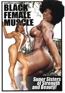 Black Female Muscle #1 (DVD)