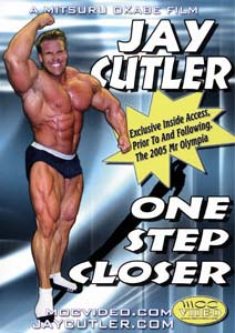 Jay Cutler - One Step Closer (DVD)